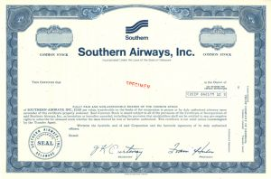 Southern Airways, Inc.