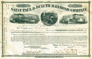 Saint Paul & Duluth Railroad