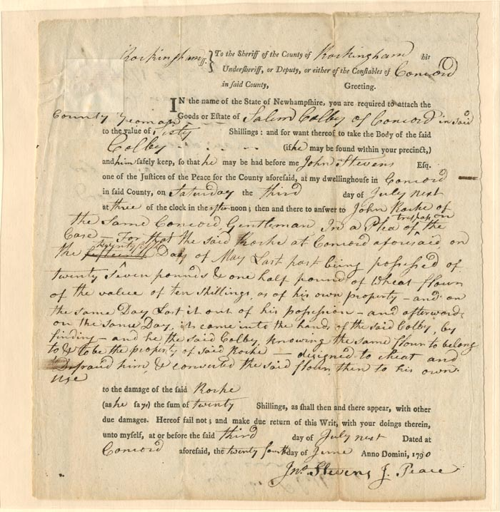 Slavery Document - SOLD