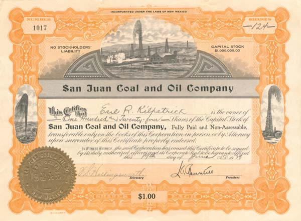 San Juan Coal and Oil Company