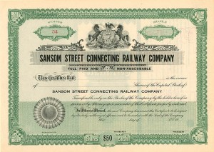 Sansom Street Connecting Railway Company