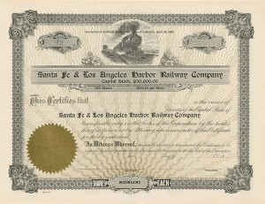 Santa Fe & Los Angeles Harbor Railway Company