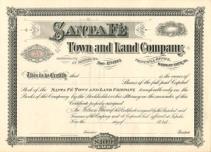 Santa Fe Town and Land Company