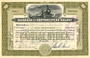 Savannah and Northwestern Railway