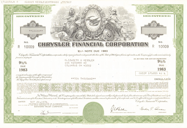 Chrysler Financial Corp