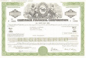 Chrysler Financial Corporation