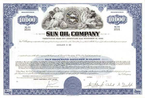 Sun Oil Company - Bond