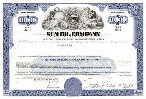 Sun Oil Company - Bond