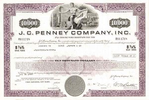 J. C. Penney Company, Incorporated - Bond