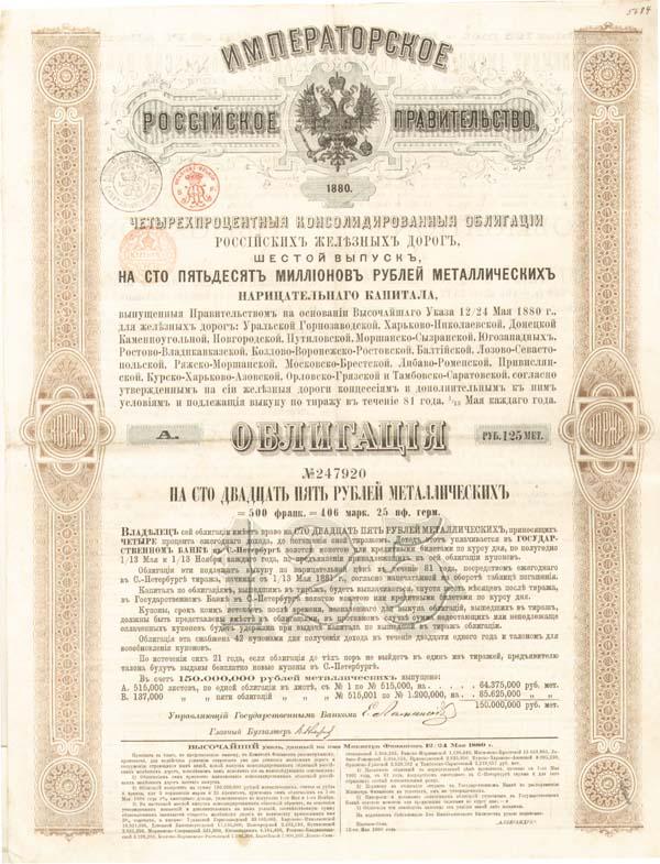 Gouvernement Imperial de Russie