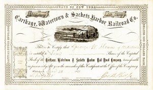 Carthage, Watertown & Sackets Harbor Railroad