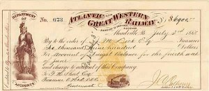 Atlantic & Great Western Railway