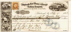 Pittsburgh, Fort Wayne & Chicago Railway - SOLD