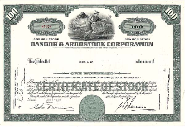 Bangor & Aroostook Railroad Company