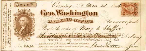 George Washington Banking Office - SOLD