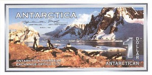 Antarctica - Specimen F0000 note - Group of 10 notes