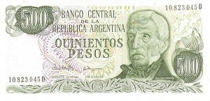 Argentina - Pick-303c - Group of 10 notes