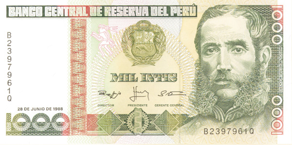 Collectible peru currency paper money peru thecheapjerseys Choice Image