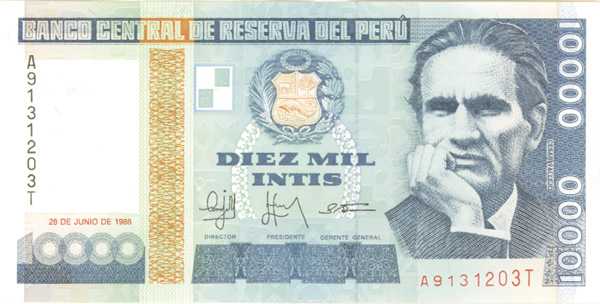 Collectible peruvian currency peru altavistaventures Image collections