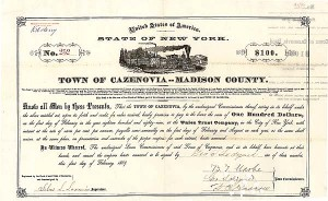 Town of Cazenovia Madison County