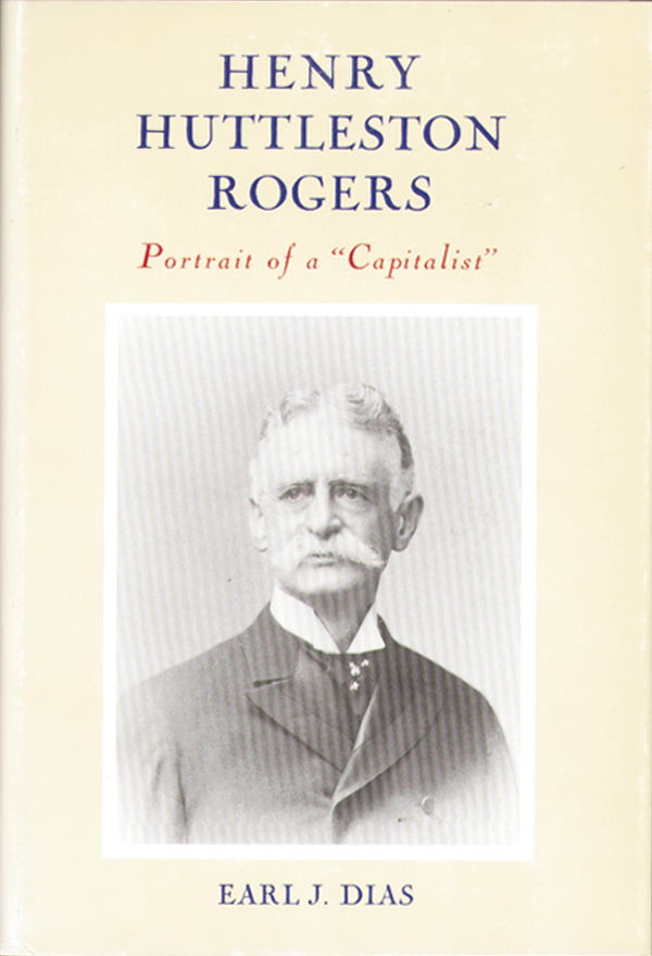 Henry Huttleston Rogers: Portrait of a 'Capitalist' by Earl J. Des - SOLD