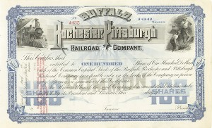 Buffalo, Rochester  & Pittsburgh Railroad