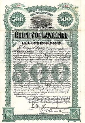 County of Lawrence - Bond