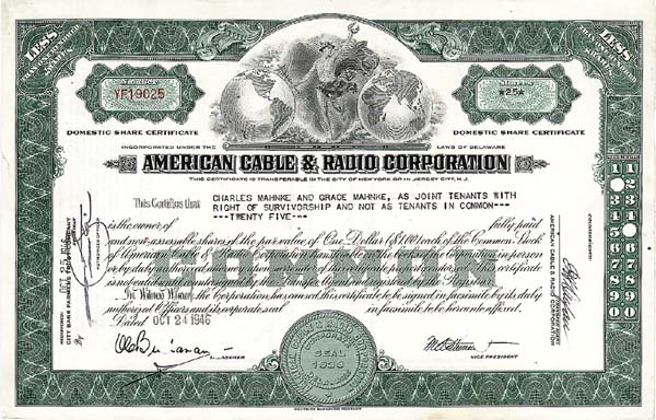 American Cable & Radio Corporation