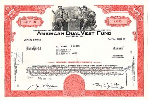 American Dual Vest Fund Incorporated