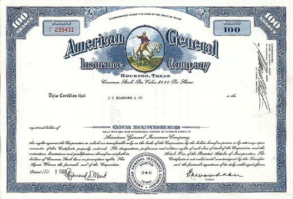 American General Insurance Co