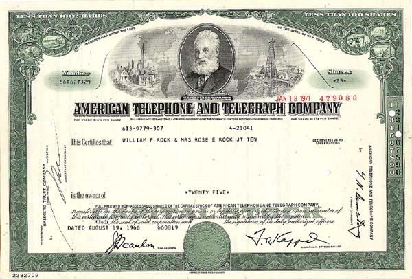 American Telephone and Telegraph Company
