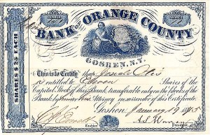 Bank of Orange County, Goshen, NY
