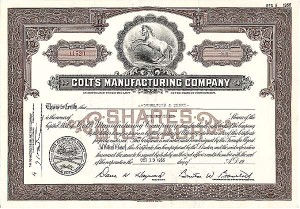 Colt's Manufacturing Co