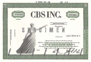 Columbia Broadcasting System, Inc (Known as CBS)