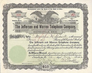Jefferson and Warren Telephone Co