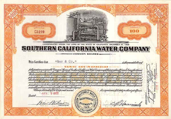 Southern California Water Co