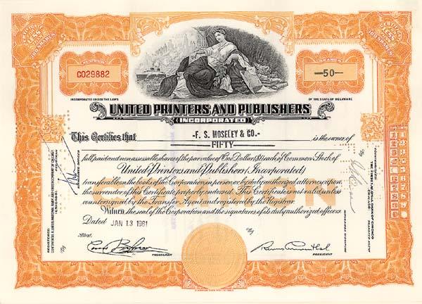 United Printers & Publishers, Inc