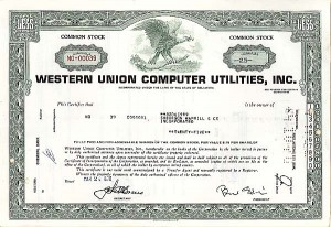 Western Union Computer Utilities, Inc