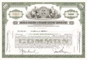 American Radiator & Standard Sanitary Corporation