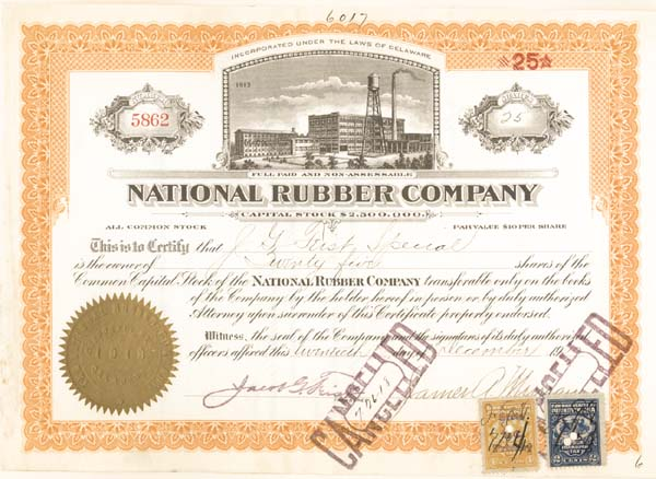 National Rubber Co
