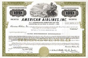 American Airlines, Incorporated - Bond