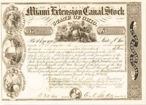 Miami Extension Canal Stock - Bond