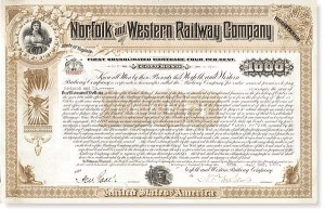 Norfolk and Western Railway - Different Denominations Available