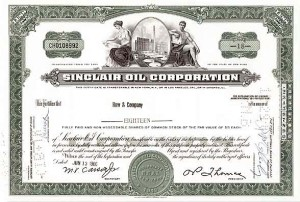 Sinclair Oil Corp - Stock Certificate