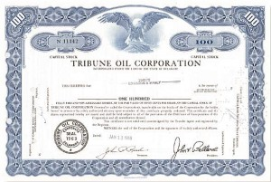 Tribune Oil Corp