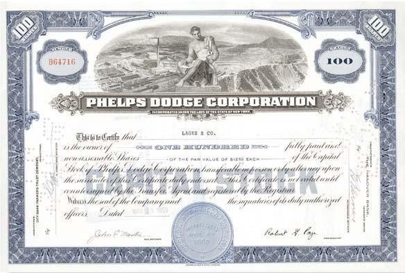 Phelps Dodge Corp