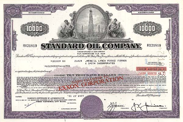 Standard Oil Company - Bond