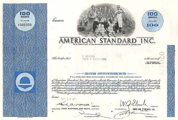 American Standard Incorporated