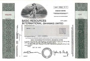 Basic Resources International (Bahamas) Ltd