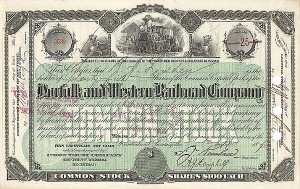 Norfolk and Western Railroad Company - Stock Certificate